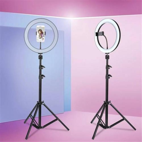 Кольцевая светодиодная лампа 26 см со штативом для профессиональной съемки Ring Fill Light