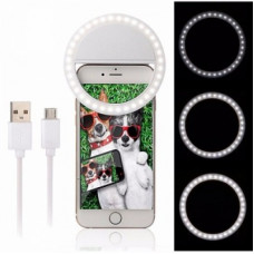 "Селфи лампа ""SELFIE RING LIGHT RK-12"" от USB"