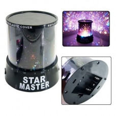"Ночник проектор ""Звездное небо"" USB+адаптер STAR MASTER LED INTERCHANGING"