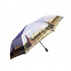 Зонт с видом города в подарочной упаковке (автомат)
