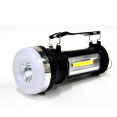 Фонарик на солнечной батареи (3 режима+аккумулятор)