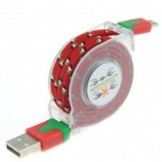 USB дата-кабель рулетка Micro USB