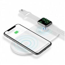 """Беспроводное зарядное устройство """"Baseus Smart 2in1"""""""