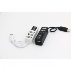 OTG хаб-разветвитель с USB-C на USB 3.1 с 4 портами
