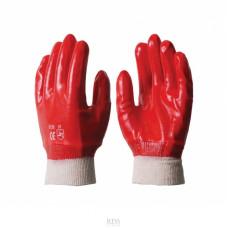 Перчатки маслобензостойкие (красные)