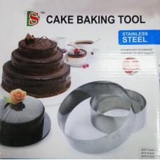 "Набор колец для выпечки ""Cake Baking Tool"", круг (3 шт)"