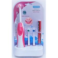 """Набор """"Toothbrush""""(зубная щетка + 2 батарейки)"""