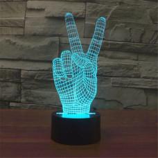 """Лампа 3D """"Рука"""""""