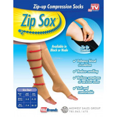 """Компрессионные гольфы на молнии """"Zip Sox"""""""